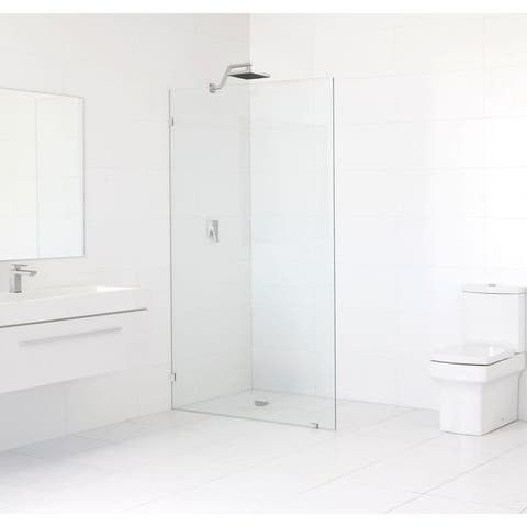 Glass Warehouse Frameless Shower Single Fixed Panel