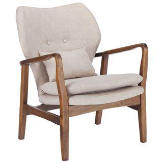 Poly and Bark Atreya Walnut Wood Chair