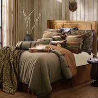 HiEnd Accents Highland Lodge Collection Brown 5-piece Comforter Set