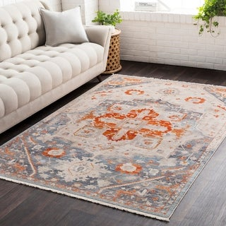 """Vintage Persian Traditional Red Area Rug - 3'11"""" x 5'7"""""""