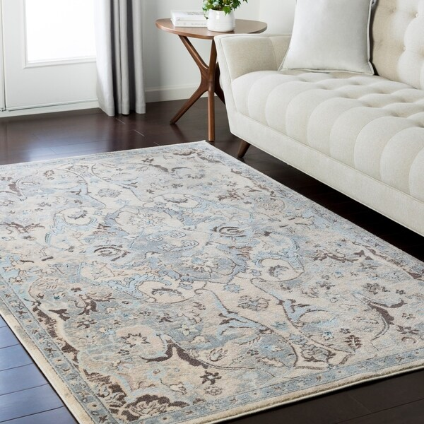 Shop Persian Inspired Neutral Grey Area Rug 5 3 Quot X 7 3