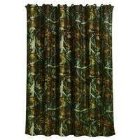 HiEnd Accents Oak Camo Shower Curtain