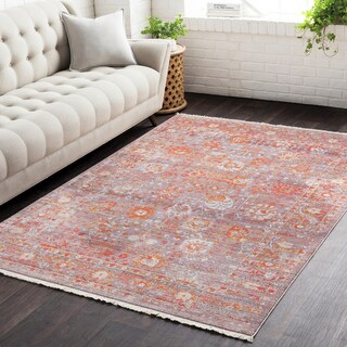 Vintage Persian Traditional Red Multi (5' x 7'9)