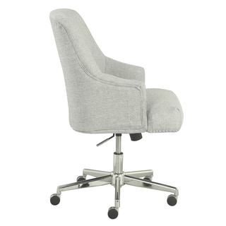 Serta Leighton Home Office Chair, Ivory