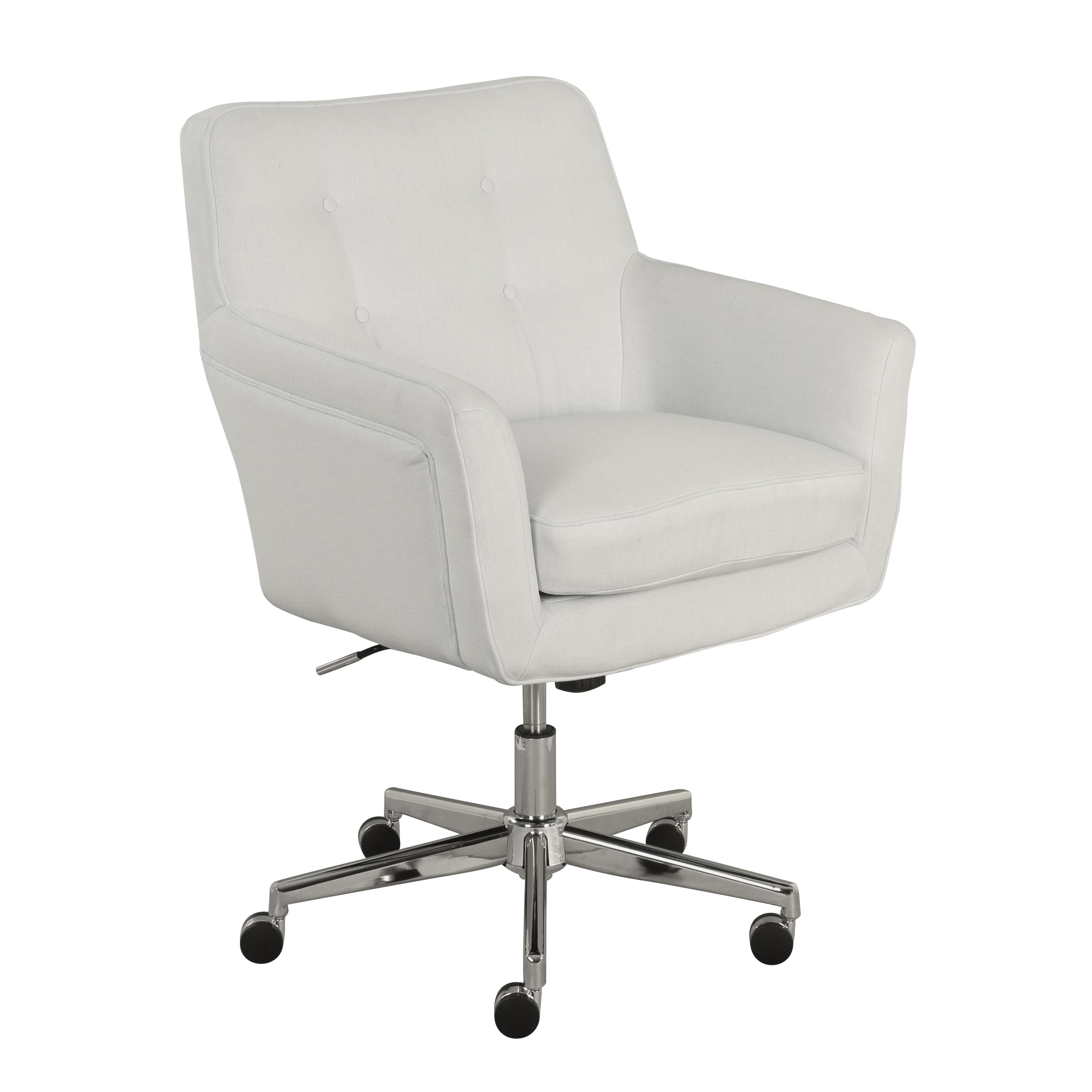 off white office chair. Serta Ashland Ivory Home Office Chair (Option: Off-White) Off White I