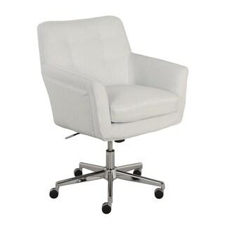 Serta Ashland Ivory Home Office Chair (Option: Off-White)