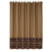 HiEnd Accents Bear Shower Curtain