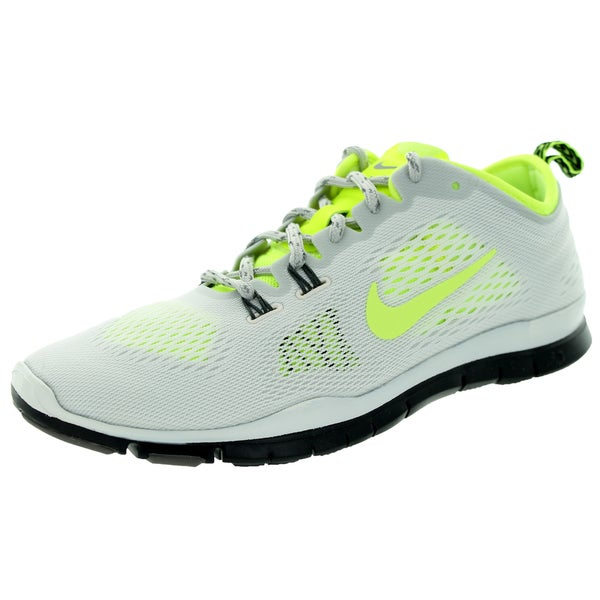 timeless design 3212b b0c0f Nike Women  x27 s Free 5.0 Tr Fit 4 White Synthetic-leather U.S.