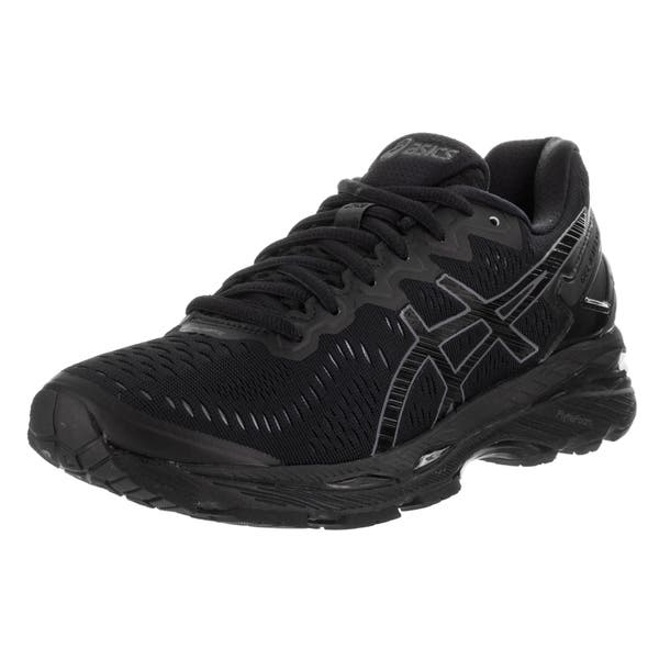 new style 7f520 47315 Shop Asics Women's Gel-kayano 23 Black Textile Running Shoes ...