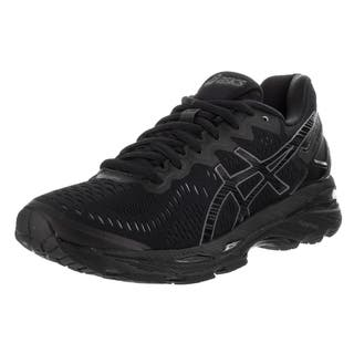 Asics Women's Gel-kayano 23 Black Textile Running Shoes