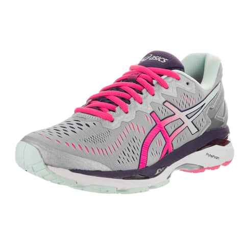 Asics Womens Gel-Kayano 23 Silver Running Shoes