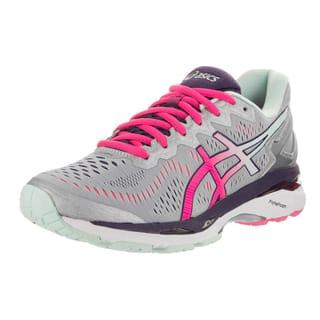 Asics Women's Gel-Kayano 23 Silver Running Shoes