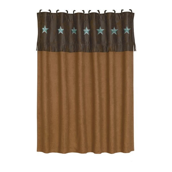 hiend accents laredo shower curtain - free shipping today - overstock com