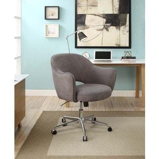 Serta Valetta Home Dovetail Grey Office Chair