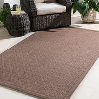 Durable Woven Indoor/ Outdoor Area Rug