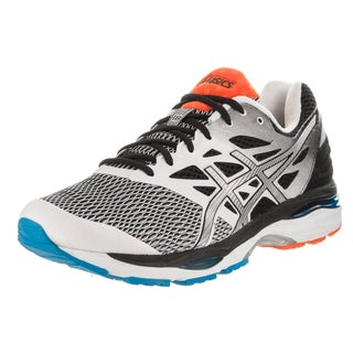 Asics Men's Gel-Cumulus 18 White/Silver/Black Running Shoes