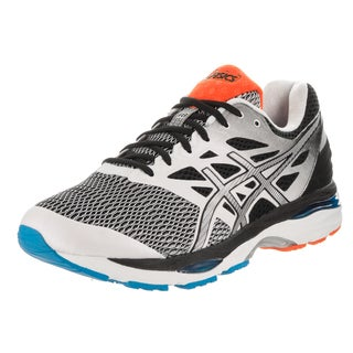 Asics Men's Gel-Cumulus 18 White/Black Extra Wide Running Shoes