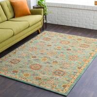 """Calvin Green Multicolor Tibetan Area Rug - 5'3"""" x 7'3"""""""