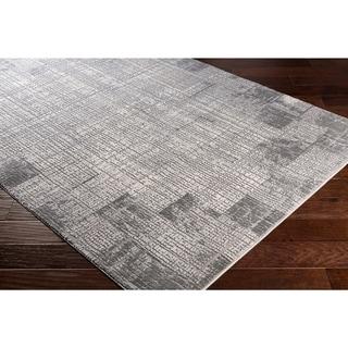 Jaden Tonal Abstract Grey Area Rug - 27 x 76 Runner (27 x 76 Runner - Cream)