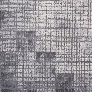 """Jaden Tonal Abstract Grey Area Rug - 2'7"""" x 7'6"""" Runner"""