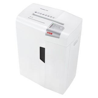 HSM shredstar X12 Cross-Cut Shredder; shreds up to 12 sheets; 6.1-gallon capacity
