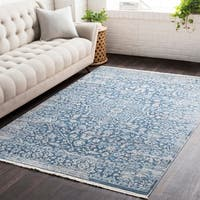 Vintage Persian Traditional Blue Area Rug (2' x 3')