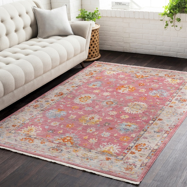 Vintage Persian Traditional Red Area Rug - 2' x 3'