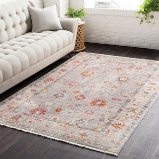 Vintage Persian Traditional Beige Multi (2' x 3')