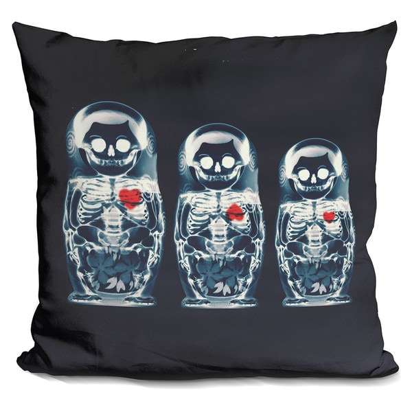 Ali Gulec 'Nesting Doll' Throw Pillow