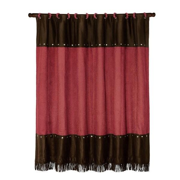 HiEnd Accents Cheyenne Shower Curtain 72 X 72