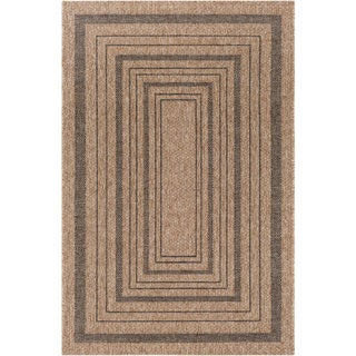 Bordered Durable Indoor/ Outdoor and Brown