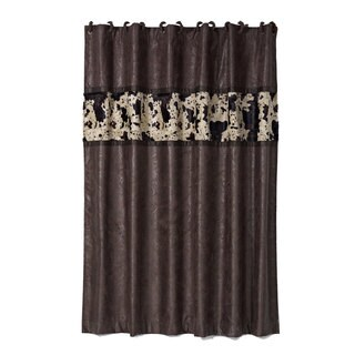 HiEnd Accents Caldwell 72-inch x 72-inch Shower Curtain