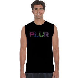 Los Angeles Pop Art Men's Sleeveless T-shirt - PLUR