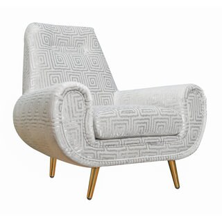 Piper Silver Patterned Chair