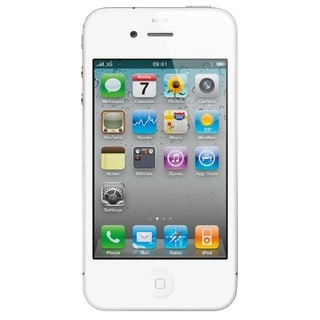 Apple iPhone 4 8GB Factory Unlocked GSM Cell Phone - White (Certified Refurbished)