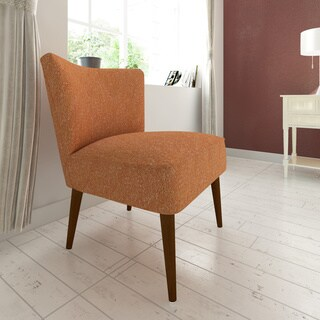 HomePop Chadwick Armless Accent Chair - Orange