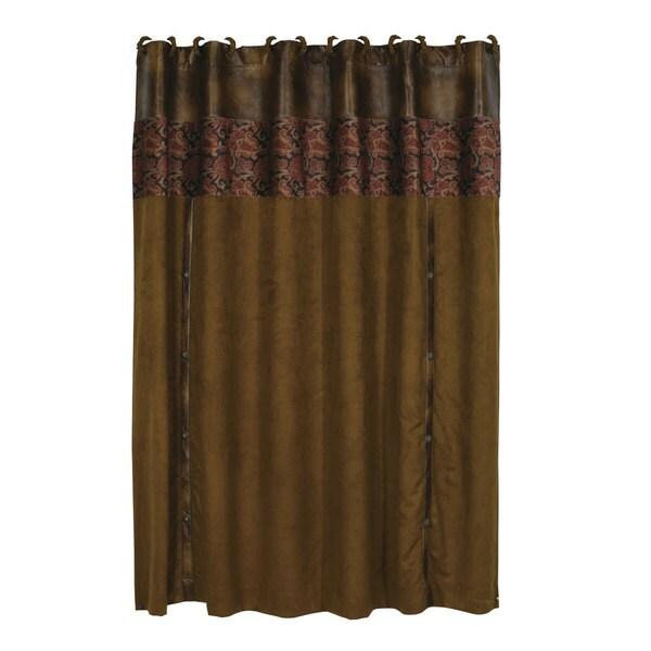 HiEnd Accents Austin Shower Curtain