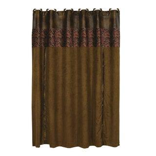HiEnd Accents Austin 72-inch x 72-inch Shower Curtain