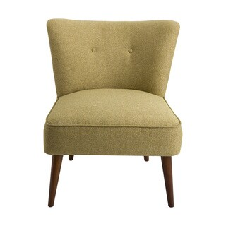 HomePop Chadwick Armless Accent Chair - Green