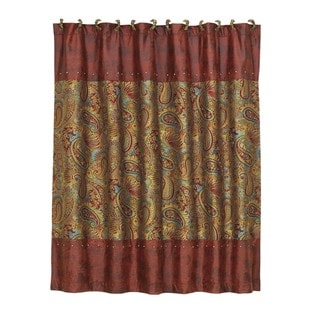 HiEnd Accents San Angelo 72x72 Shower Curtain