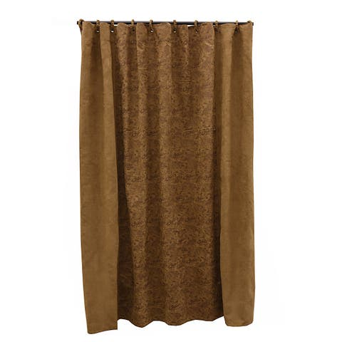 """HiEnd Accents Paisley Small Shower Curtain (72"""" x 72"""")"""