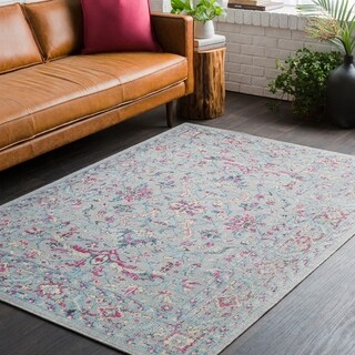 Traditional Persian Distressed Grey (2' x 3')