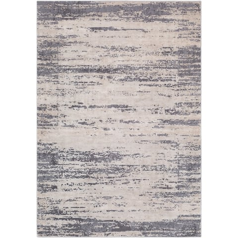 Teddy Distressed Modern Area Rug