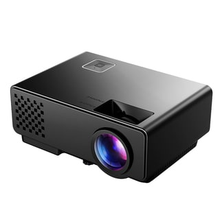 LCD Video Projector Home Projector with Mini Portable Design 1080P Full HD for Home Cinema Theater