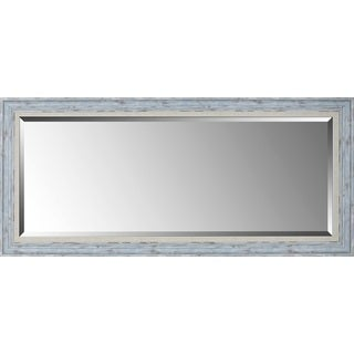 Hobbitholeco Blue/White 24-inch x 54-inch Mirror