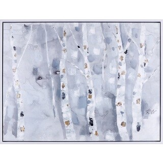 32.25X42.25 Icy Forest