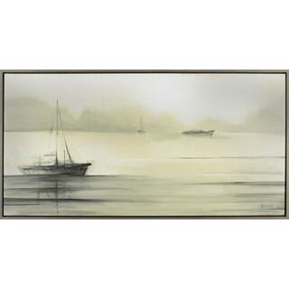 26.5X50.5 Serene Sailboats