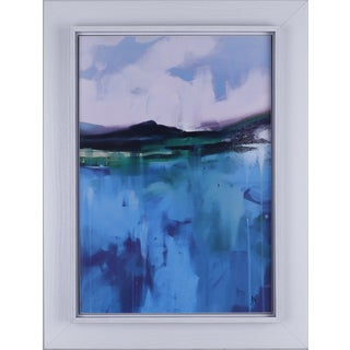 Daniel St-Amant 'Abstract V' 26.25 x 32.25-inch Framed Art with Raised Liner