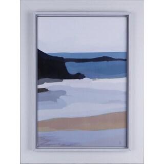Daniel St-Amant 'Abstract IV' 26.25 x 32.25-inch Raised Liner Framed Artwork