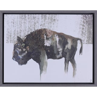 'Buffalo' 14.5 x 18.5-inch Framed Art